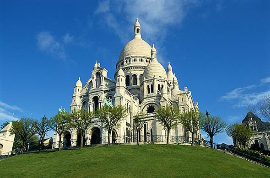 Сказочный замок во франции