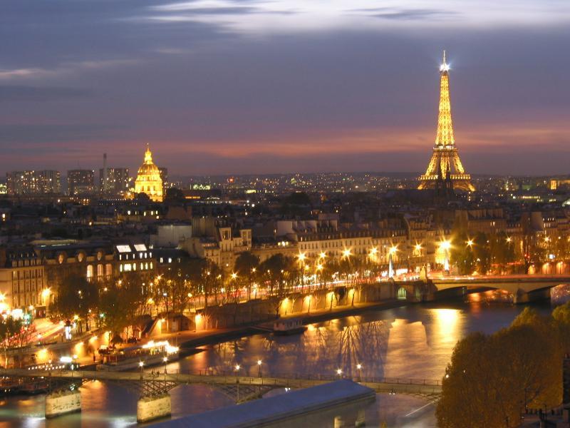 Париж необыкновенный город